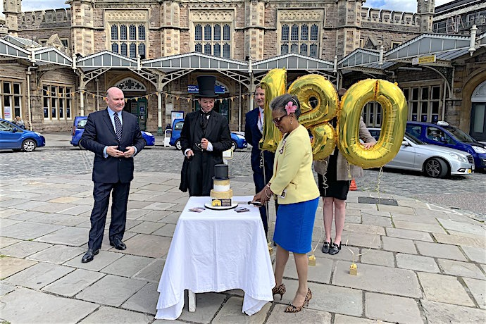 180th anniversary celebrations at Bristol Temple Meads