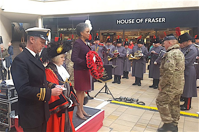 5th Annual Bristol Poppy Day launch