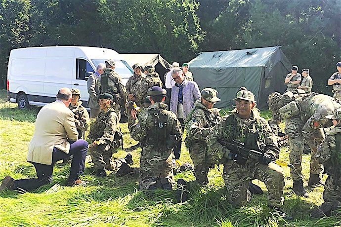 Bristol ACF at Altcar Training Camp