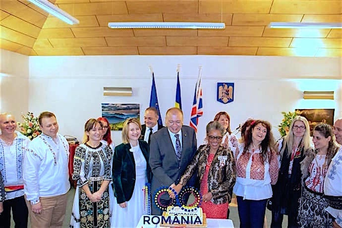 Celebrations for the 100th anniversary of Romanian National Day