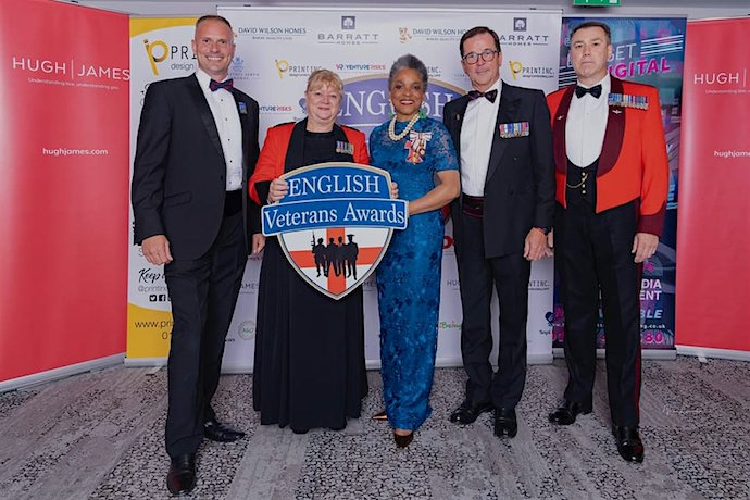 English Veterans Awards held in Bristol