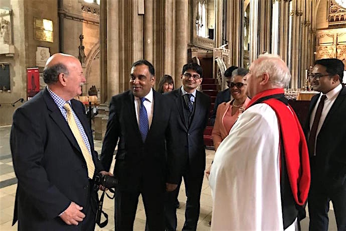 High Commissioner for India visits Bristol
