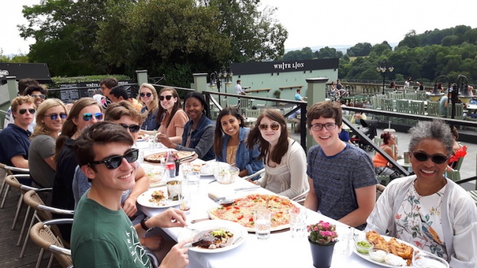Honors Carolina - UNC Class of 2021 visit Bristol