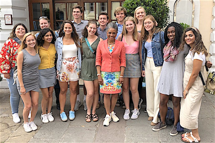 Honors Carolina class of 2023 visits Bristol