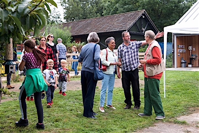 Lawrence Weston Community Farm opening