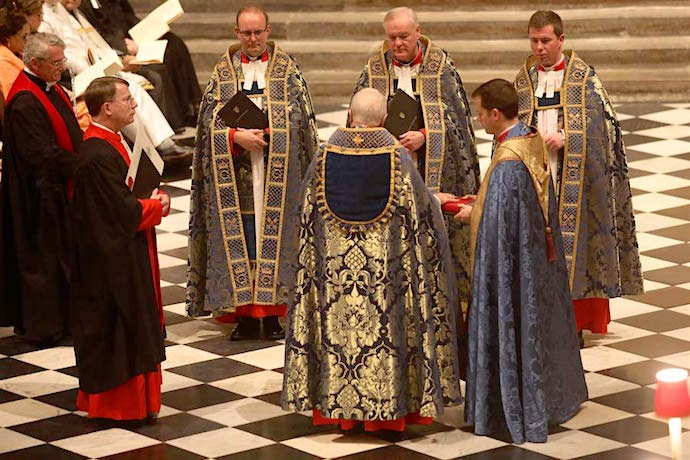 New Dean of Westminster Installed