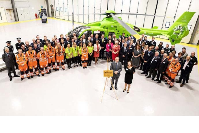 New airbase for Great Western Air Ambulance charity