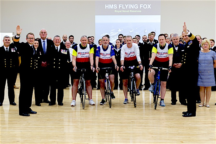 New facilities at HMS FLYING FOX, Bristol