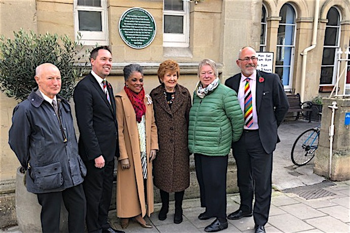 The Clifton Club Bicentenary Plaque Unveiling