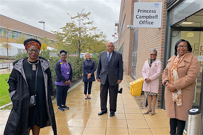 The Princess Campbell Office opens