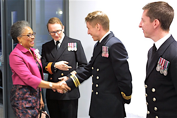 Vital role of business highlighted at HMS FLYING FOX